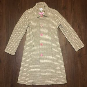 Lilly Pulitzer Vintage Inspired Wool Peacoat 10